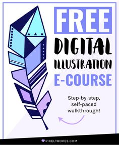 Interested in learning digital art? Follow the link and sign up now for a free, self-paced e-course on digital art fundamentals for beginners! This step-by-step, easy-to-follow online tutorial walkthrough will provide you with a comprehensive introduction to the basics of creative digital illustration in Adobe Photoshop—no experience required. You'll recieve the first lesson immediately after signing up!