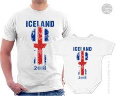 9239a66ec Iceland Football Fan Matching T-Shirt and Onesie