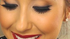 Classic Red Lips Makeup Tutorial! his super helpful tutorial by Jaclyn Hill is not just about the classic red lips but also about how to do the rest of your makeup to complement them! Check it out! http://karasglamourblog.blogspot.com/2013/09/classic-red-lip-makeup-tutorial.html