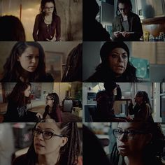 """27 Likes, 6 Comments - Layla // Orphan Black Edits (@youredxmnright) on Instagram: """"Sarah/Cosima parallel. This is all I could think about when I watched this scene ❤️ . . . .…"""""""