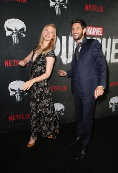 deborah ann woll and ben barnes Deborah Ann Woll, Ben Barnes, Punisher Netflix, Frank Castle Punisher, Jon Bernthal, Jonathan Rhys Meyers, Chronicles Of Narnia, Daredevil, Celebs