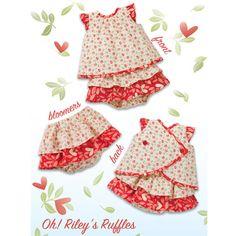Kwik Sew Oh! Riley''s Ruffles Pattern - Toddler Patterns