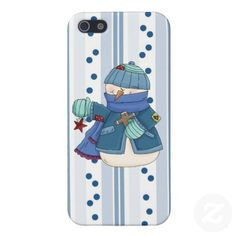 Christmas Snowman iPhone5 Savvy Glossy case iPhone 5 Covers