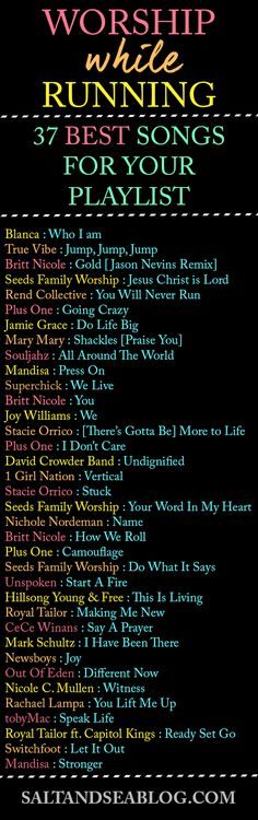 BEST Worship Music Playlist for Running