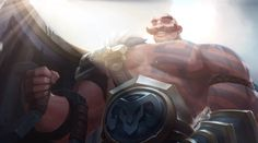 New character for #LeagueOfLegends #Braum