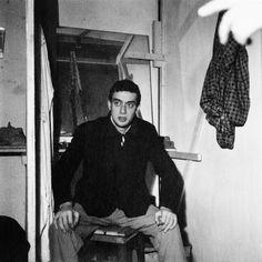 Claudio Abate. Carmelo Bene in Cristo 63. Teatro Laboratorio, Roma 1963 (prima dello spettacolo)