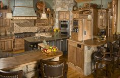 Home on the Range Interiors ~ Western Kitchen