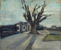 Varlin (Willy Guggenheim) (Swiss, Mon atelier au Beckenhof [My studio in Beckenhof], Oil on canvas, x 80 cm.