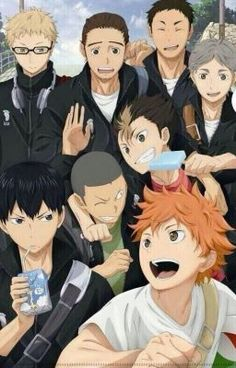 "You should read ""Haikyuu! (Various x Reader)"" on - You should read ""Haikyuu! (Various x Reader)"" on - Manga Anime, Manga Haikyuu, Haikyuu Fanart, Fanarts Anime, Anime Characters, Watch Haikyuu, Kagehina, Haikyuu Karasuno, Nishinoya"