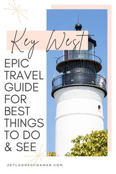 Ready for you Key West, Florida vacation? Find out the amazing things to do in Key West for your trip! Know all the best Key West beaches and Key West restaurants too! Follow this guide for one smashing Key West, Florida vacation. Key West Vacation // Key west Beaches // Key West Food // Key West Florida Vacation // Beach Vacation // Beach Vibes // Florida Beaches Key West Beaches, Key West Resorts, Key West Vacations, Florida Travel Guide, Florida Vacation, Vacation Places, Key West Florida, Florida Keys, Florida Beaches