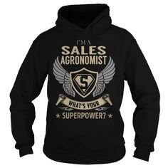 I am a Sales Agronomist What is Your Superpower Job Title TShirt