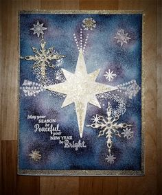 Creating With Joan: Stampin' Up! Star of Light. DOstamperSTARS #DSC209