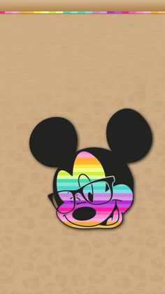 Image uploaded by Find images and videos about hipster, colors and disney on We Heart It - the app to get lost in what you love. Mickey Mouse Wallpaper Iphone, Cute Disney Wallpaper, Wallpaper Iphone Cute, Colorful Wallpaper, Mickey Mouse Art, Mickey Mouse And Friends, Bape Wallpapers, Iphone Wallpapers, Animal Print Wallpaper