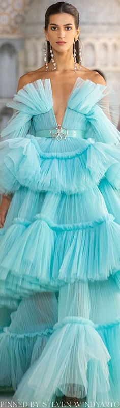 Im So Fancy, Georges Hobeika, New Woman, Ruffles, Ready To Wear, Tulle, Spring Summer, Womens Fashion, Skirts