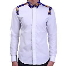 African print mens shirts tailored made patchwork designs africa clothing african fashion dashiki clothes African Print Shirt, African Print Clothing, African Print Dresses, African Dress, Latest African Fashion Dresses, African Print Fashion, Africa Fashion, African Attire, African Wear