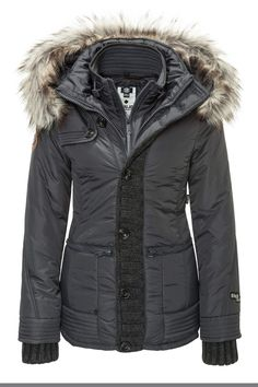 Khujo Women's Winter Jacket Quilted Jacket