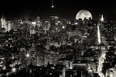 New York, New York (Revised) - I have a tendency to revisit older images of mine and touch them up, most recently this image, which has been one of the most popular (editors choice as well), and one of the most controversial, images I've ever posted on 500px due to the inclusion of the moon. A lot of people liked the addition while many hated it and found it unnecessary. You can find the original post here…