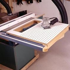 Tablesaw Sanding Table Woodworking Plan, Workshop & Jigs Dust Collection