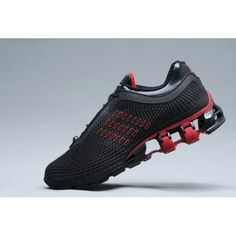 new product 8ff4e 3ccb7 PORSCHE DESIGN ADIDAS BOUNCE S2 Black Red New Sneakers