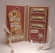 Tea Bag Holder Card Tutorial from thekraftjournal(blogspot)
