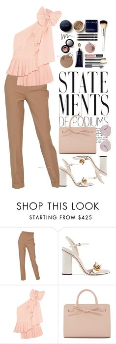 """""""millennial boss"""" by fashion-is-my-passion-14 on Polyvore featuring Hermès, Gucci, Sea, New York, Mansur Gavriel and Fendi"""