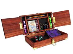 Handmade D Amp D Or Rpg Dice Box Wood Box From Michaels