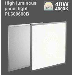 40W Recessed LED Panel 600x600 Round Corner Design - Tridonic Driver (4000K)