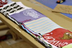 How to make a memory quilt from baby blankets, clothes and t-shirts.
