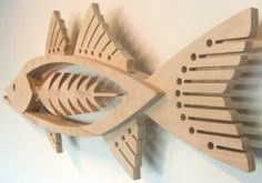 Mark gottschalk's wooden fish