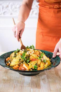 Couscous met kip & saffraan