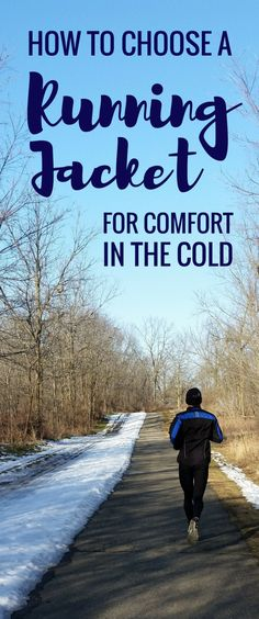 Here are running tips for cold weather running clothes to be comfortable and warm during your winter running workout. These are some things to keep in mind when choosing a winter running jacket for cold weather, whether it be a long distance marathon training run or short run in the cold! Fitness gear to make a part of your winter running outfit!
