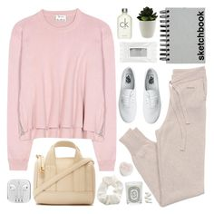 """""""Untitled #2322"""" by liliblue ❤ liked on Polyvore featuring GANT, Vans, Stila, Acne Studios, Paperchase, Calvin Klein, Diptyque, Topshop, Forever 21 and women's clothing"""