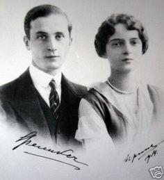 Prince Felix Yussuppov and his wife Princess Irina nee Romanova
