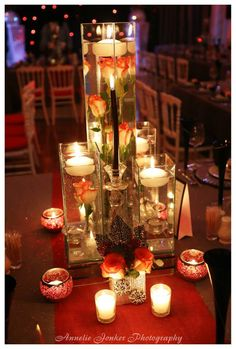 Stunning and contemporary centerpiece