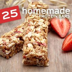 These delicious bars will change the way you think of protein bars! Makes a great after workout snack or healthy dessert…