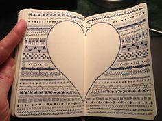 Very cool doodling #journalnerd