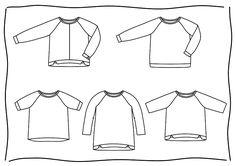 BETULA ist ein locker-weit sitzender, gerade geschnittener Pullover mit Raglanärmeln, den Du in verschiedenen Versionen nähen kannst. Das Schnittmuster (Gr. 32-48) enthält folgende Optionen: - Halbarm, 3/4-Arm, Langarm - Bündchen mit Schlitzen, gerade Bündchen, ohne Bündchen - gerader Saum, asymmetrischer Saum - 2 verschiedene Längen (Hüftlänge und bis über den Po) - halsnaher und etwas weiterer Ausschnitt Das E-Book enthält außerdem Anregungen und Erklärungen für weitere Variationsmö...