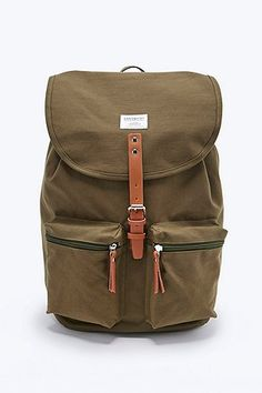Sandqvist - Sac à dos Roald olive - Urban Outfitters