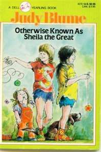 LOVED Judy Blume books.