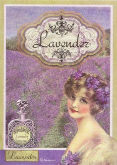 Ricepaper/ Decoupage paper, Scrapbooking Sheets /Craft Paper Lavender Parfum