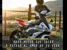 Resultado de imagen para frases de amor para motociclistas
