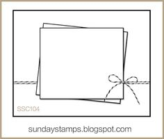 Sunday Stamps... Weekly Challenge: SSC104... Sketch Time!