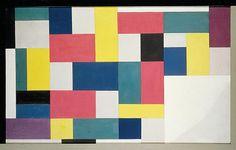 Pure Painting Artista: Theo van Doesburg Tamaño: 1,30 m x 80 cm Período: De Stijl Género: Arte abstracto Técnica: Pintura al aceite Fecha de creación: mayo de 1920–7 de julio de 1920