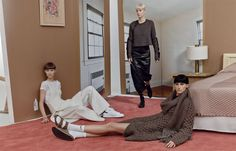 ALL DRESSED DOWN AND NO WHERE TO GO    W MAGAZINE: I'M DOING SOX AND SANDALS THIS FALL