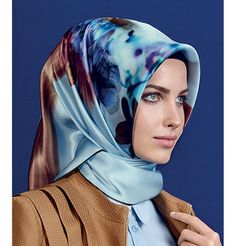 Armine Silk Hijab Scarf Fall 2015 - Winter 2016 # 7285 – Modefa USA