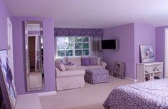 designs by jennifer nicole anderson Purple Bedroom Design, Girls Bedroom Colors, Bedroom False Ceiling Design, Bedroom Wall Colors, Room Design Bedroom, Girl Bedroom Designs, Room Ideas Bedroom, Home Room Design, Purple Bedroom Walls