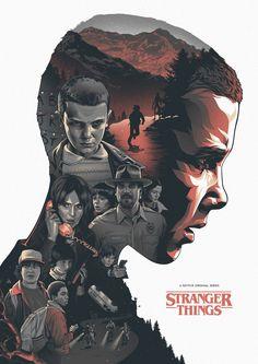 Stranger Things by Amien Juugo.