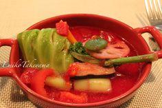 warm vegetables