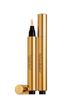 Yves Saint-Laurent Beauté's Touche Éclat  Pen. A highlighter extraordinaire... eyes appear bigger and brighter