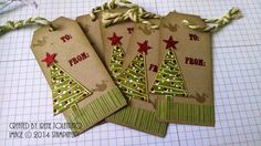 Relax. Make a Card: Festival of Trees Tags